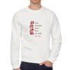 Donne Forti felpa senza cappuccio personalizzata uomo digitalshirt bianca
